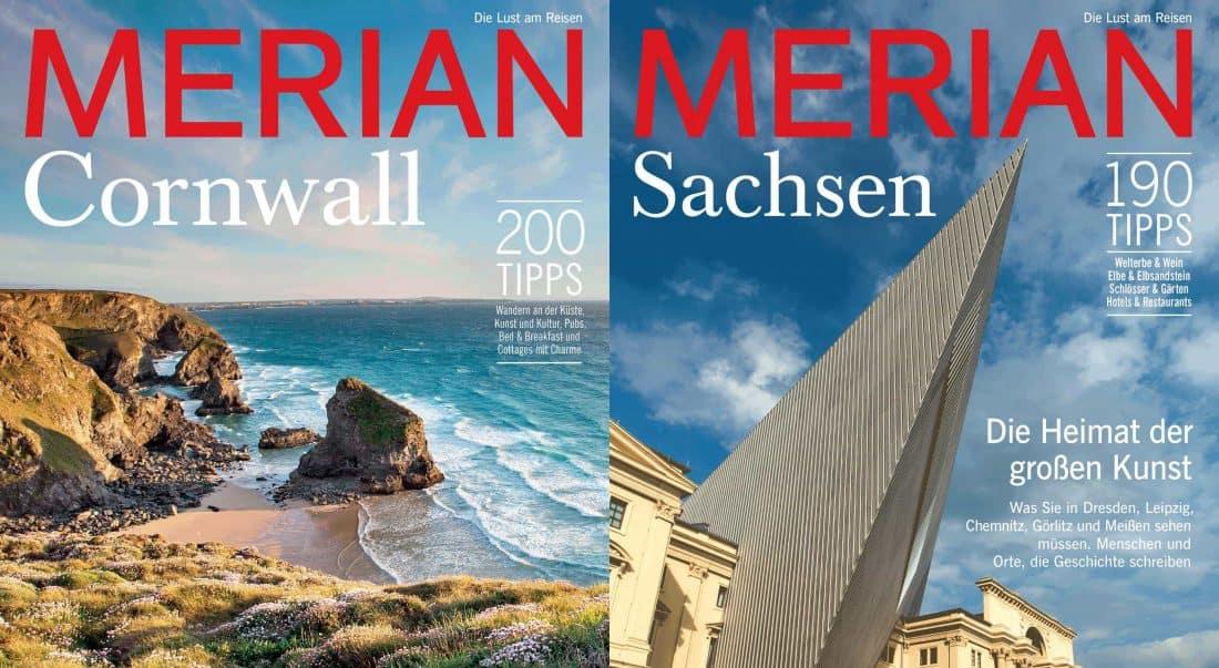 Merian Cover Cornwall & Sachsen