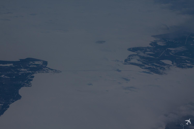 Im Flug Kanada
