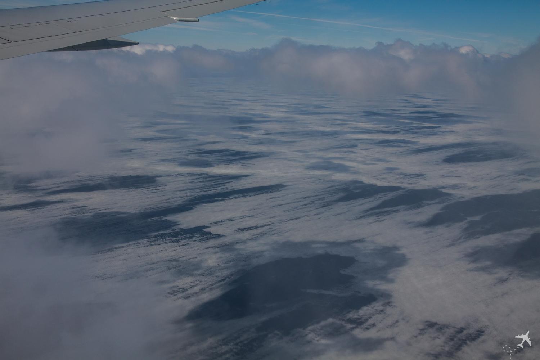 Im Flug Lake Michigan