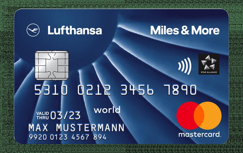 Miles&More Kreditkarte Blue