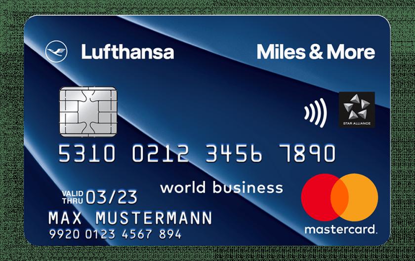 Miles&More Kreditkarte Blue Business