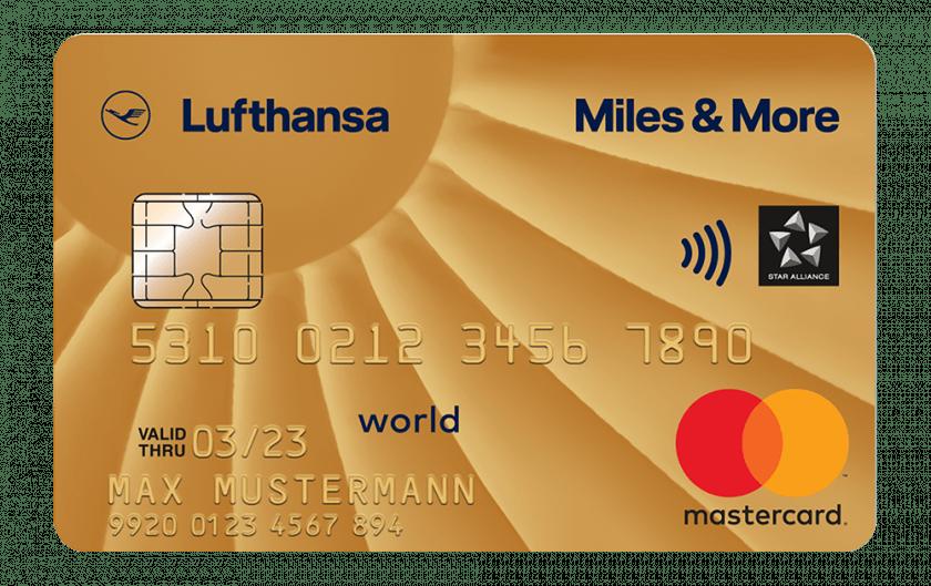 Miles&More Kreditkarte Gold