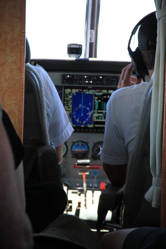 Mokulele Bewertung Cockpit