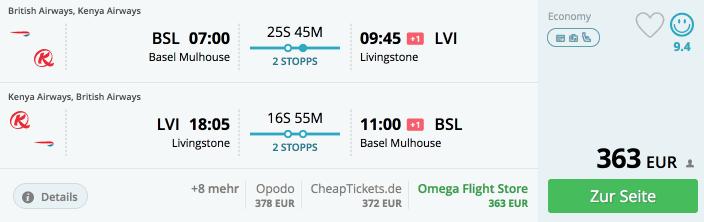 Momondo BSL-LVI British Airways