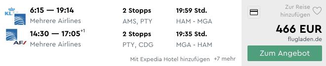 Momondo HAM MGA KLM