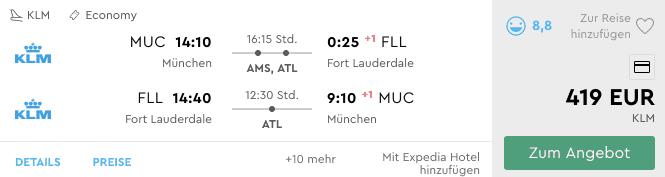 Momondo MUC FLL KLM