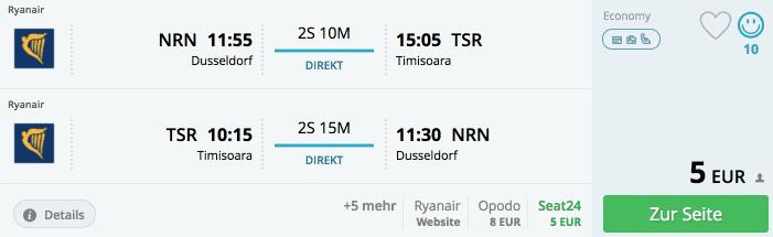 Momondo NRN-TSR Ryanair