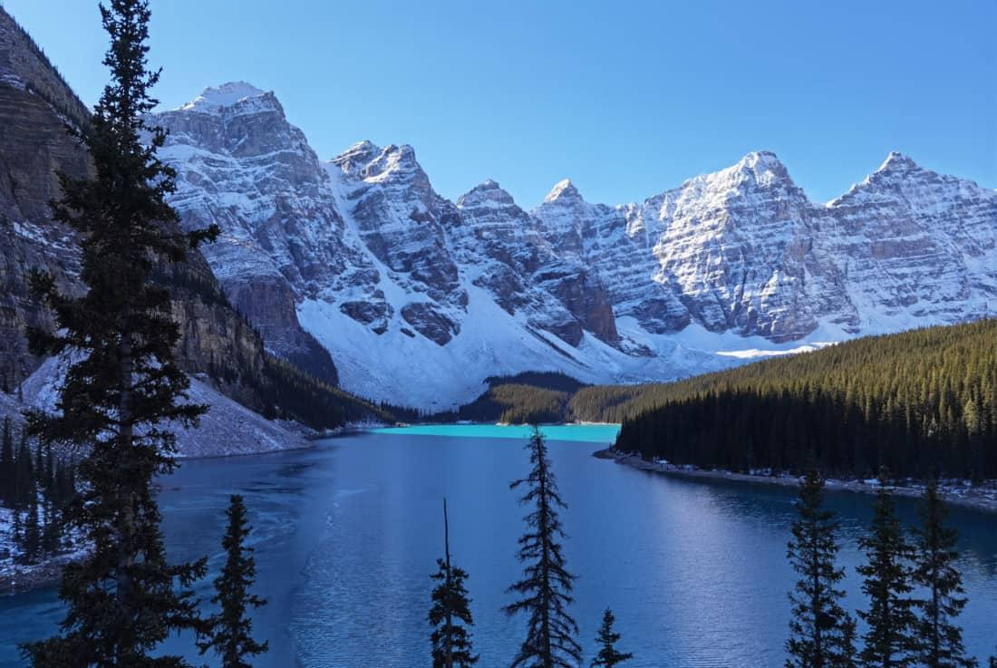 Moraine Lake Kanada Herbst 2021
