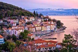 Moscenicka Draga, Kroatien