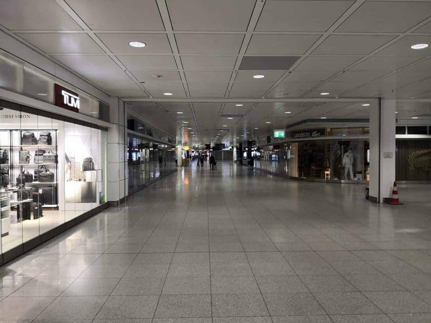 Munich Airport empty 4