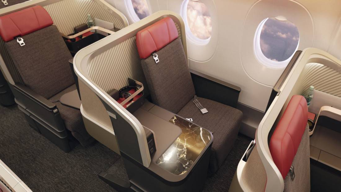 Neue LATAM Business Class Boeing 777