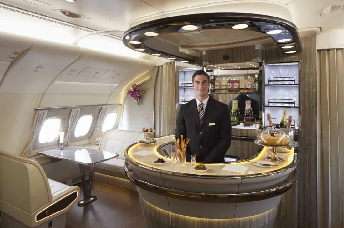 Neues Emirates Design Bar an Bord