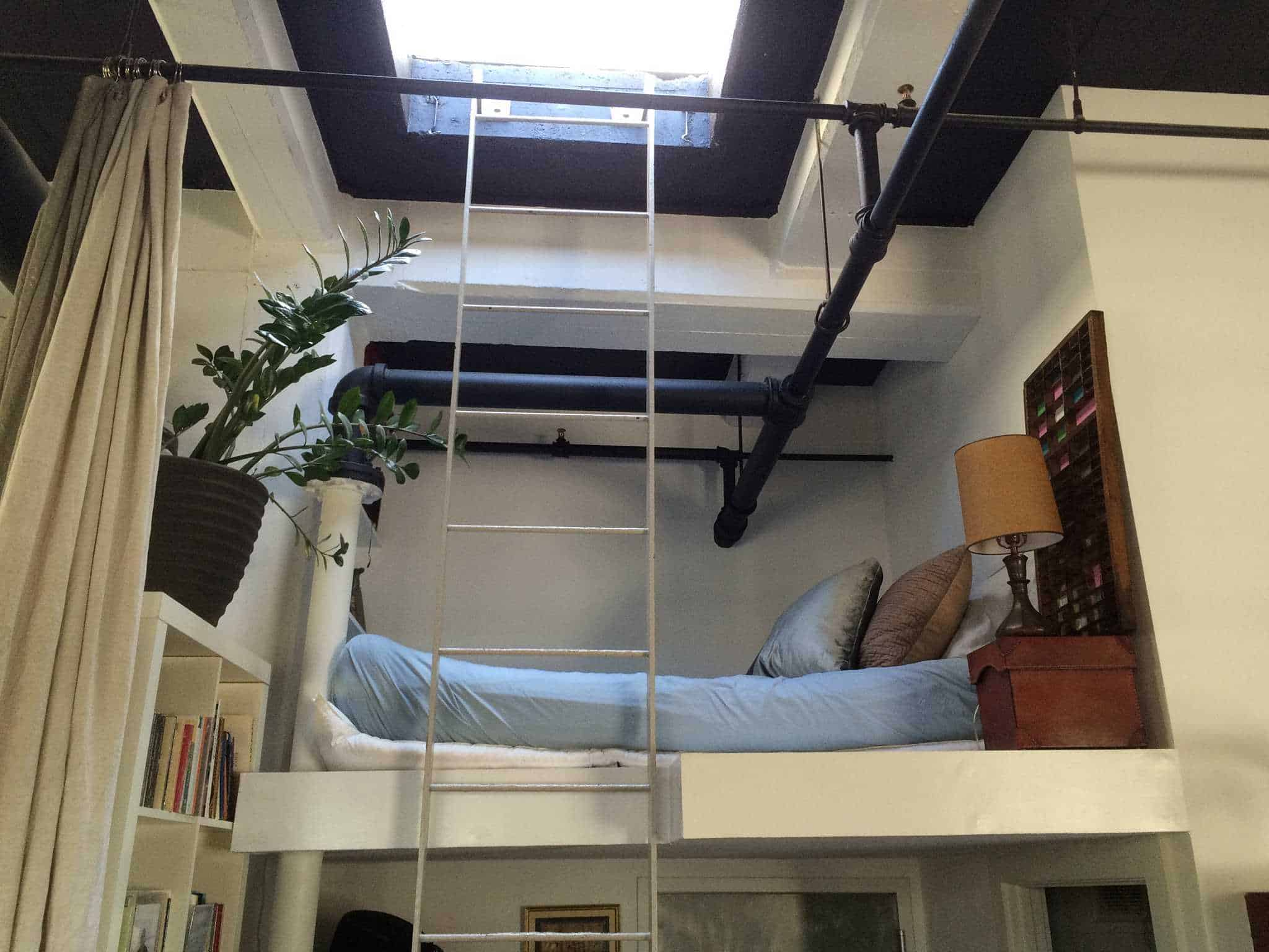 Hochbett im Loft in Williamsburg, York