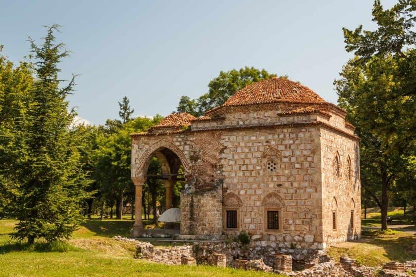 Mittelalterliche Moschee in Nis, Serbien