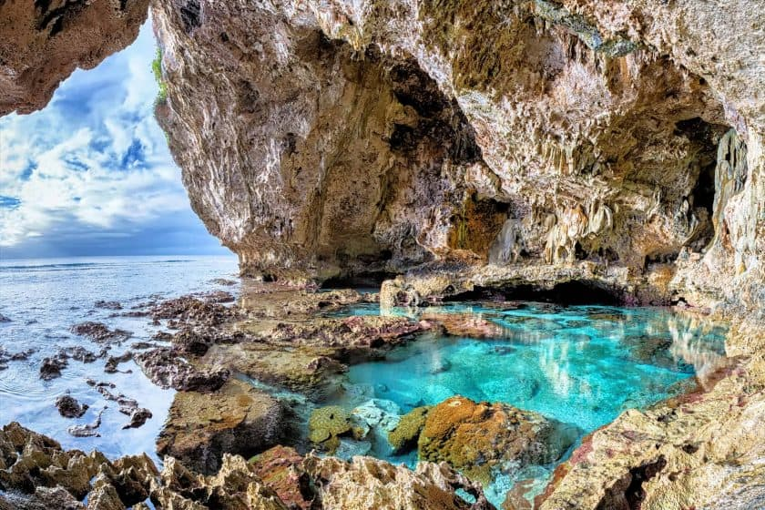 Avaiki Cave, Niue, Südpazifik