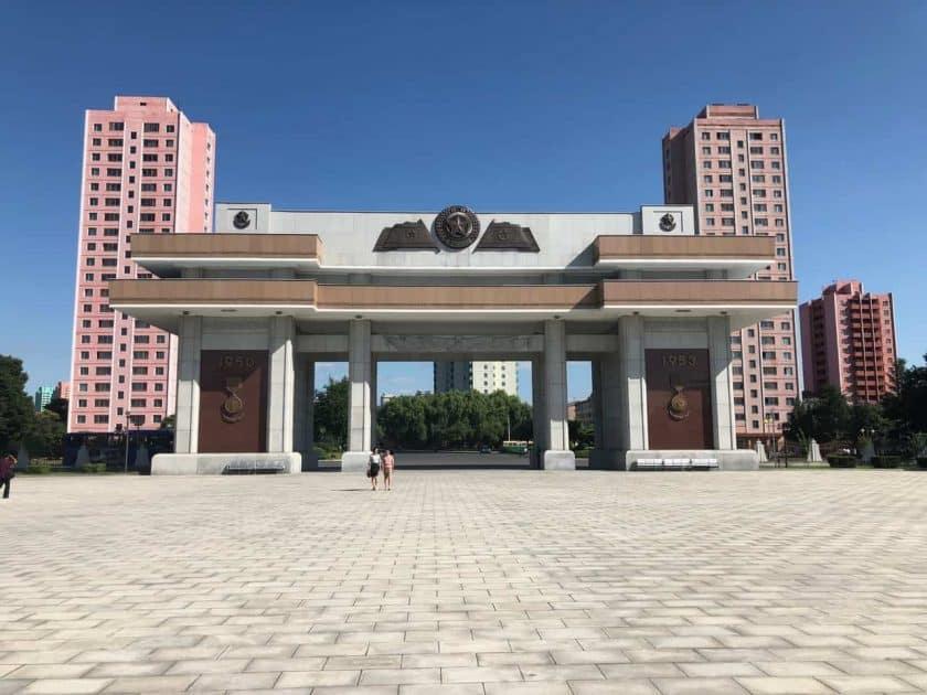 Nordkorea Denkmal
