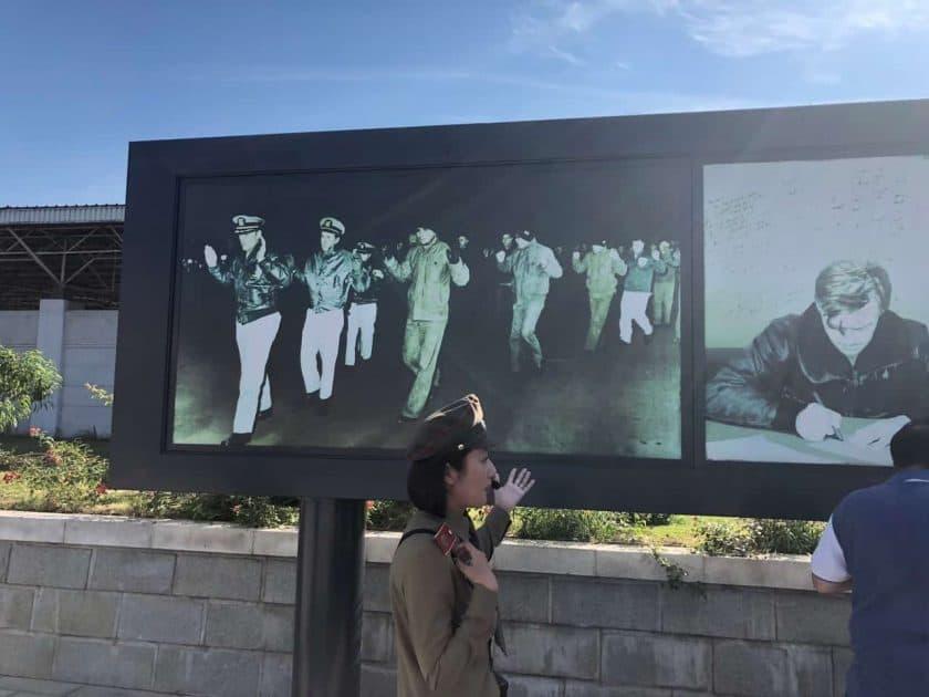 Nordkorea Militarplakat