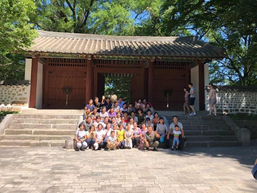 Nordkorea Reisegruppe