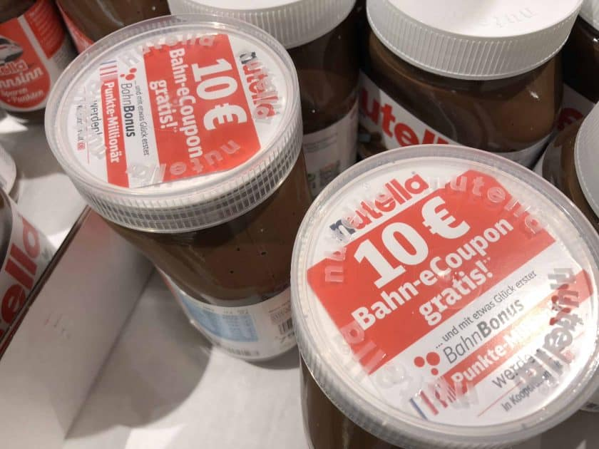Nutella Bahn Coupon 2018