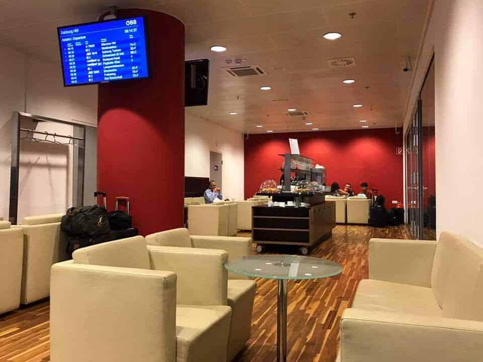 OEBB Lounge Salzburg