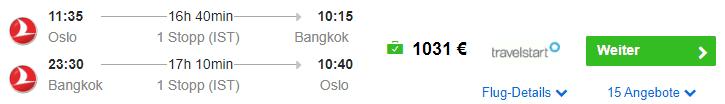OSL BKK 1031 TK