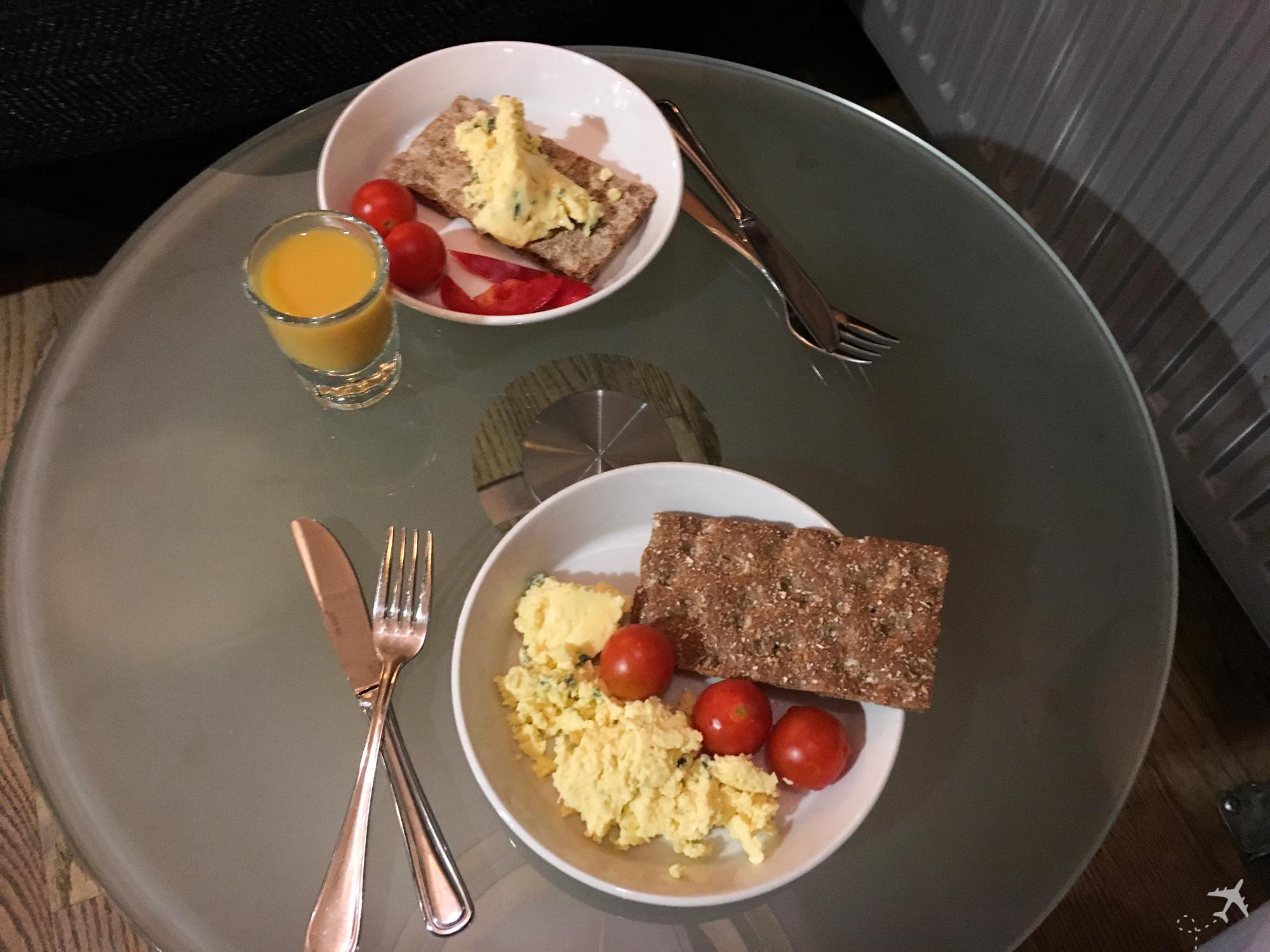 OSL Lounge Frühstück