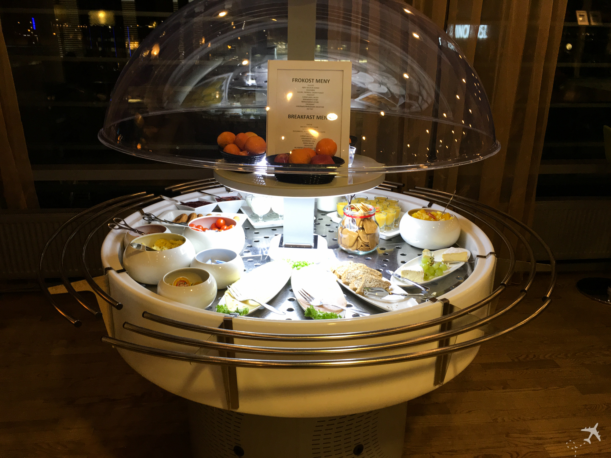 OSL Lounge Auswahl Frühstück