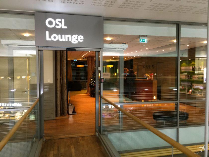 OSL Lounge Eingang