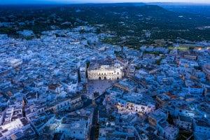 Ostuni, Apulia, Brindisi, Italien
