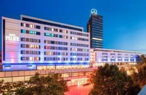 Hotel Palace Berlin Außenansicht