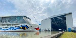 Papenburg Meyer Werft AIDAcosma Ausruestkai Halle
