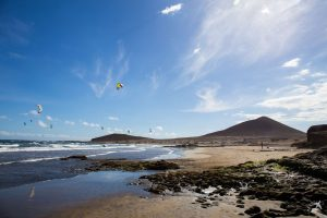 Playa de Montaña Roja auf Teneriffa