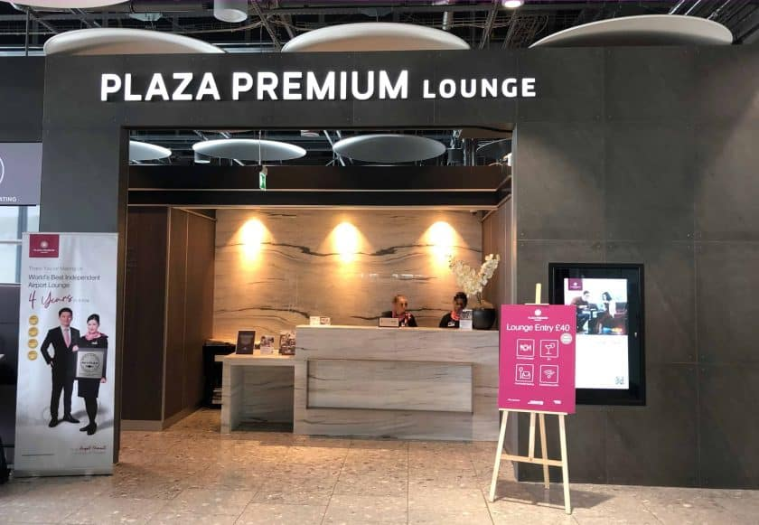 Plaza Premium Lounges London Heathrow T5