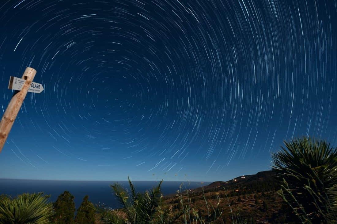 Polarstern auf La Palma