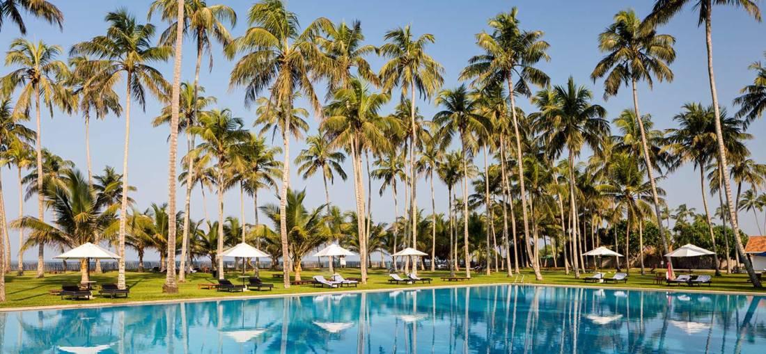 Poollandschaft Blue Water Sri Lanka
