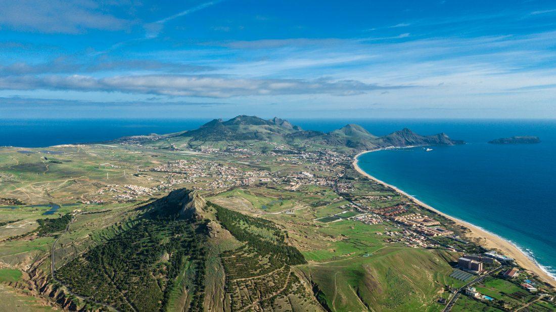 Luftaufnahme Porto Santo Madeira