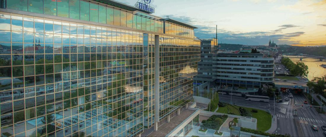 Prag Hilton Außen