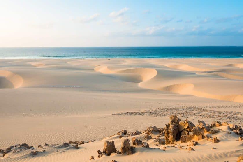 Praia de Chaves Boa Vista Kapverden