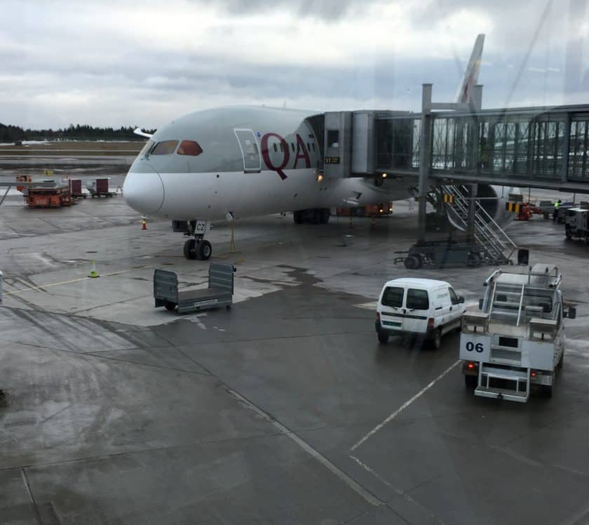 Qatar Airways Boeing 787- Dreamliner