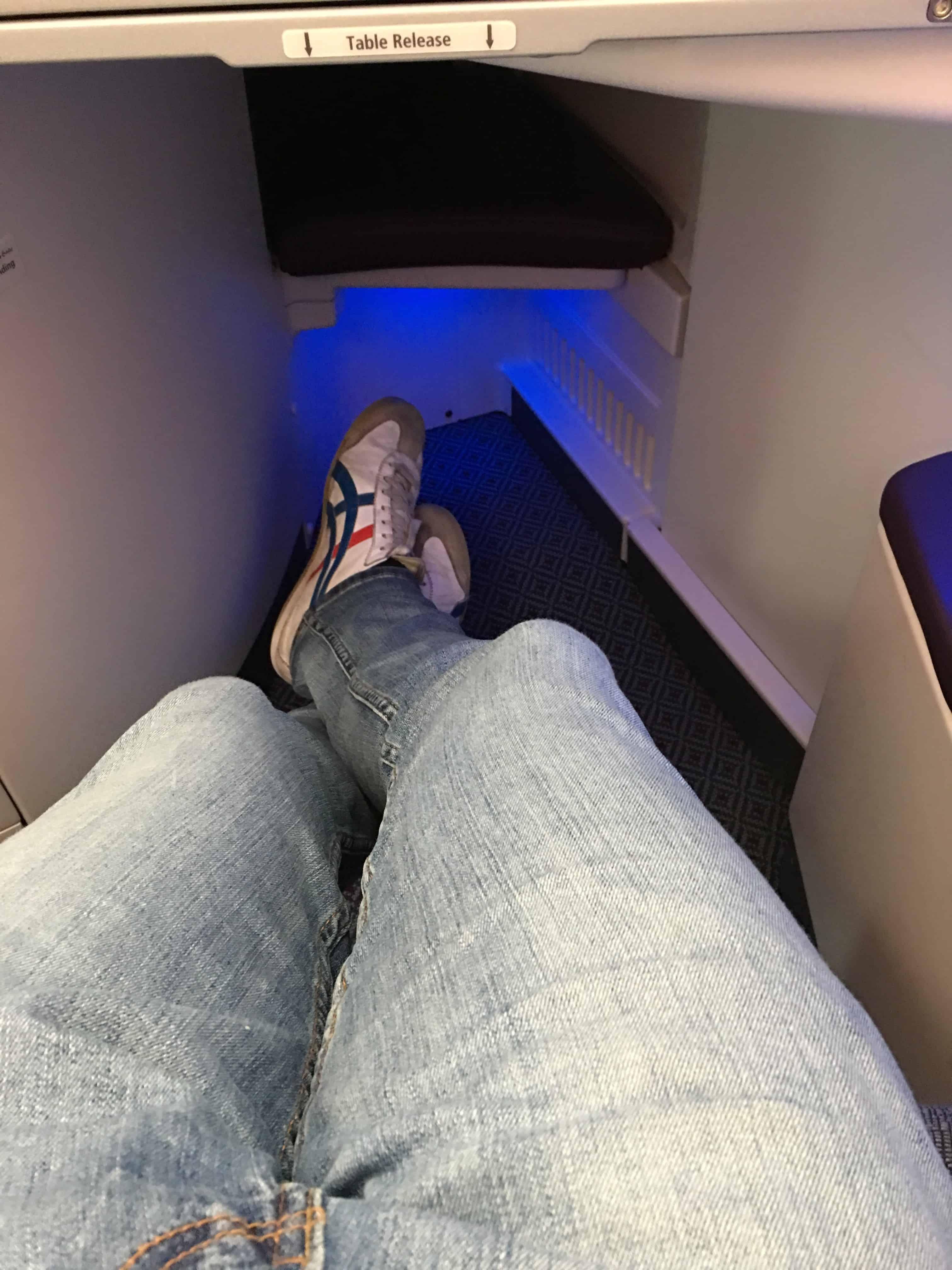 Qatar Airways Business Class Sitzabstand