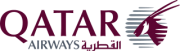 Logo von Qatar Airways