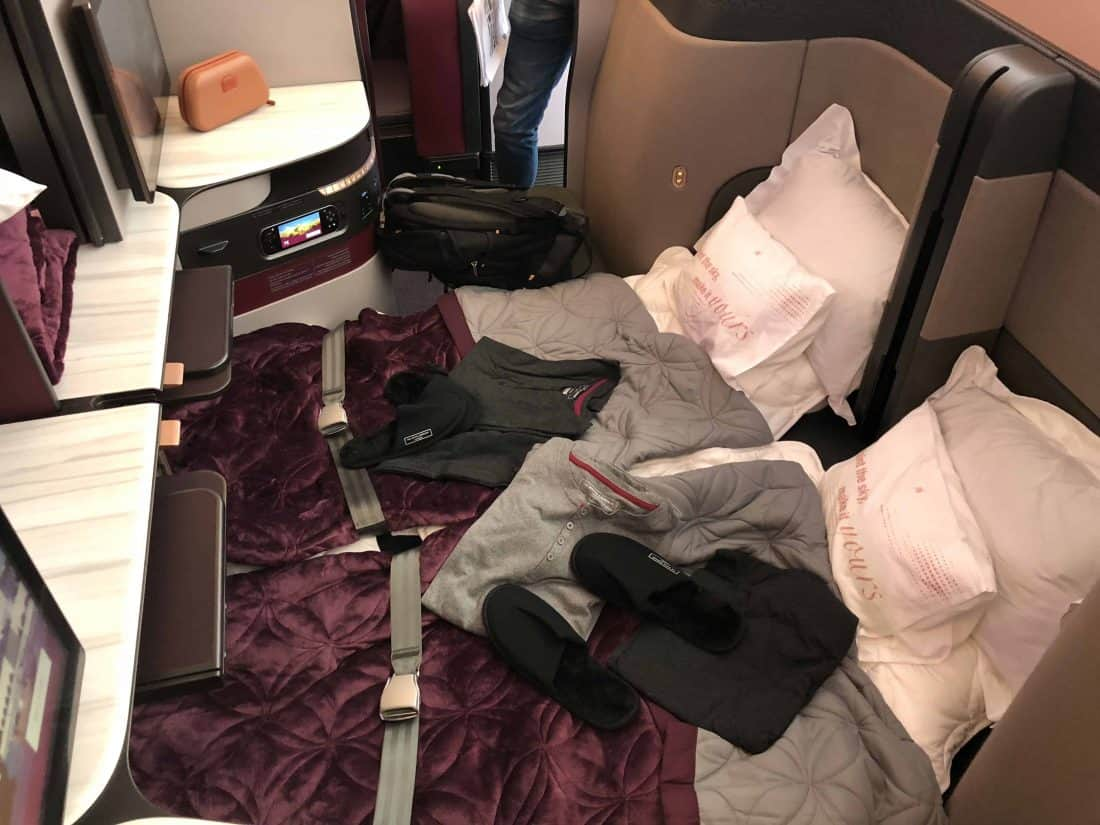 Qatar Airways QSuite Mitte