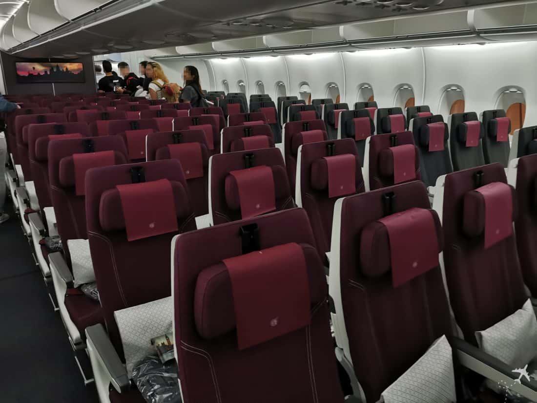 Qatar Eco Airbus A380 Sitze 2