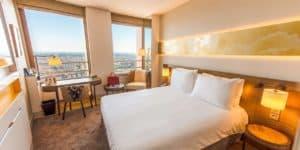 Radisson Blu Hotel Lyon Zimmer
