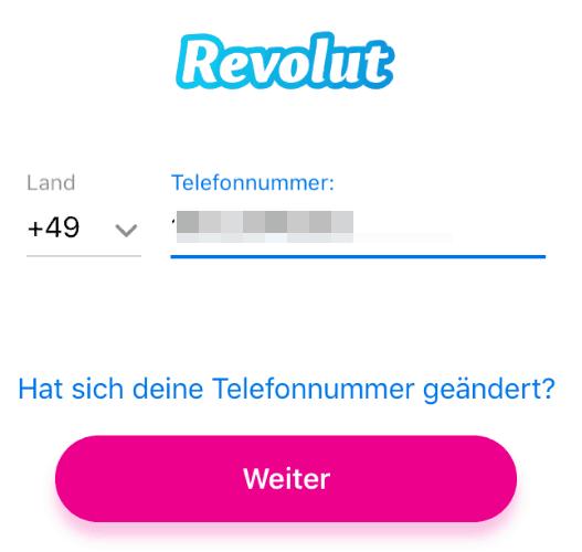 Revolut Registrieren