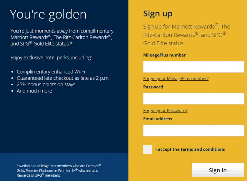 RewardsPlus Sign up