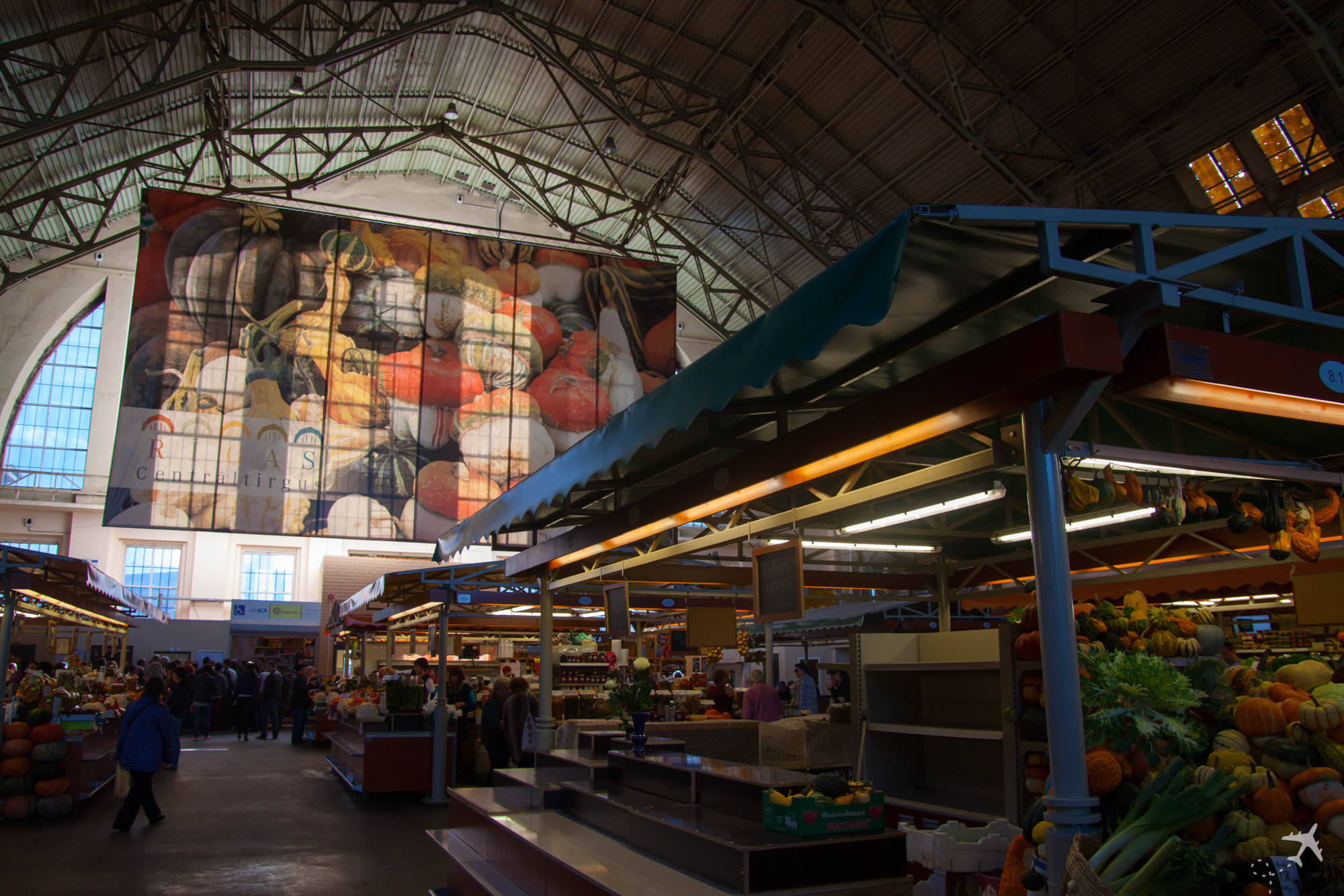 Zentralmarkt, Riga, Lettland