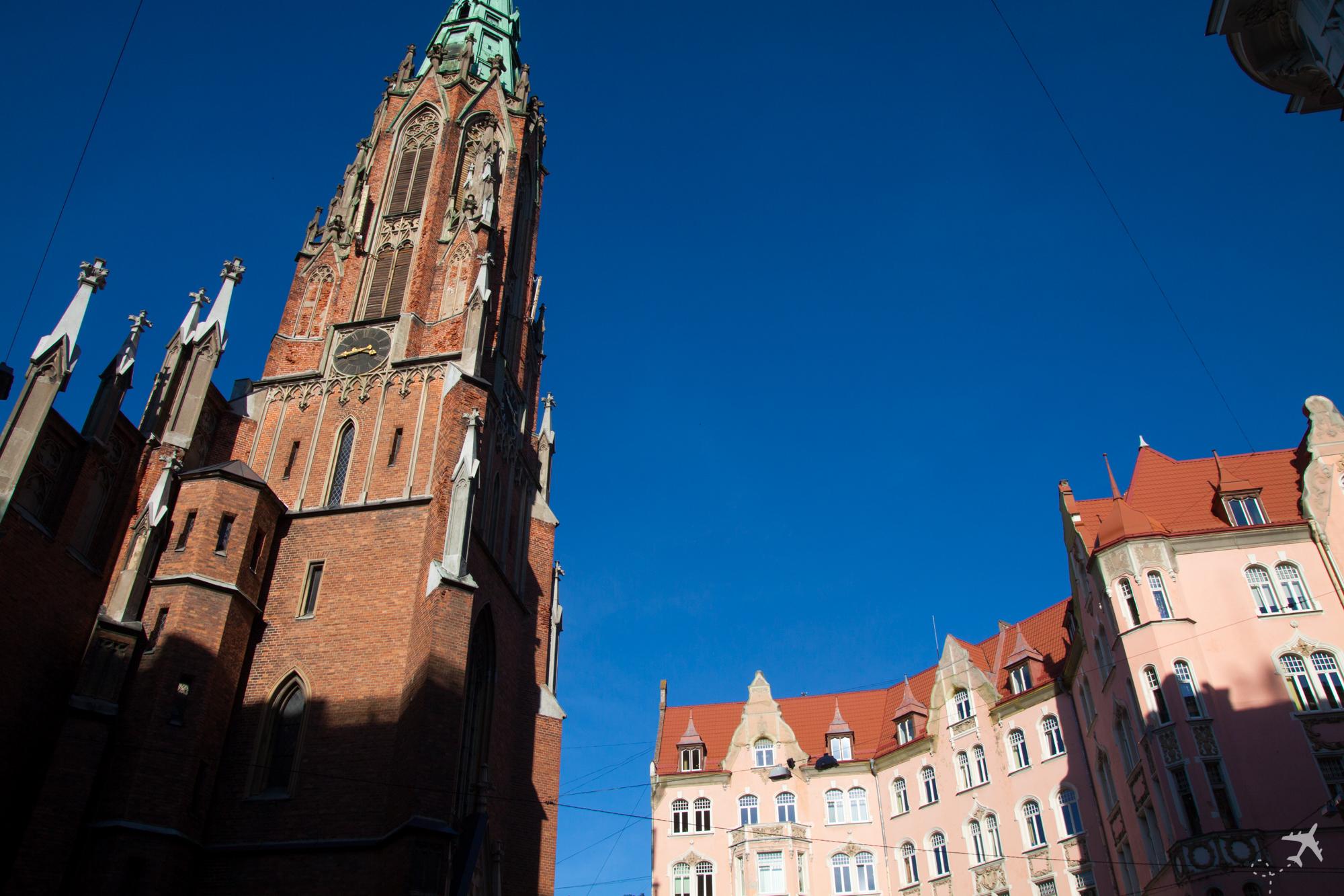 Evangelische Kirche, Riga, Lettland