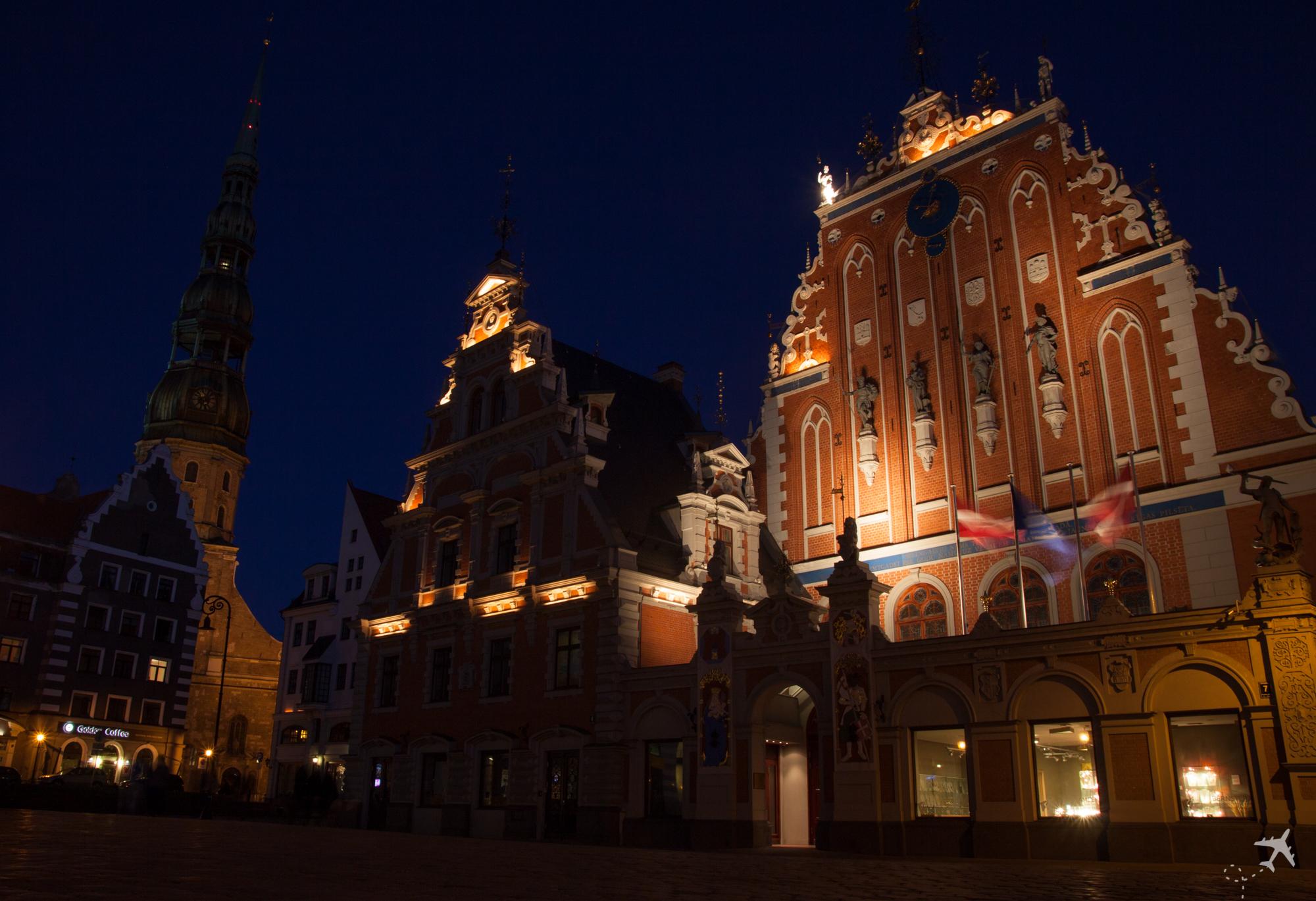 Schwarzhäupterhaus, Riga, Lettland