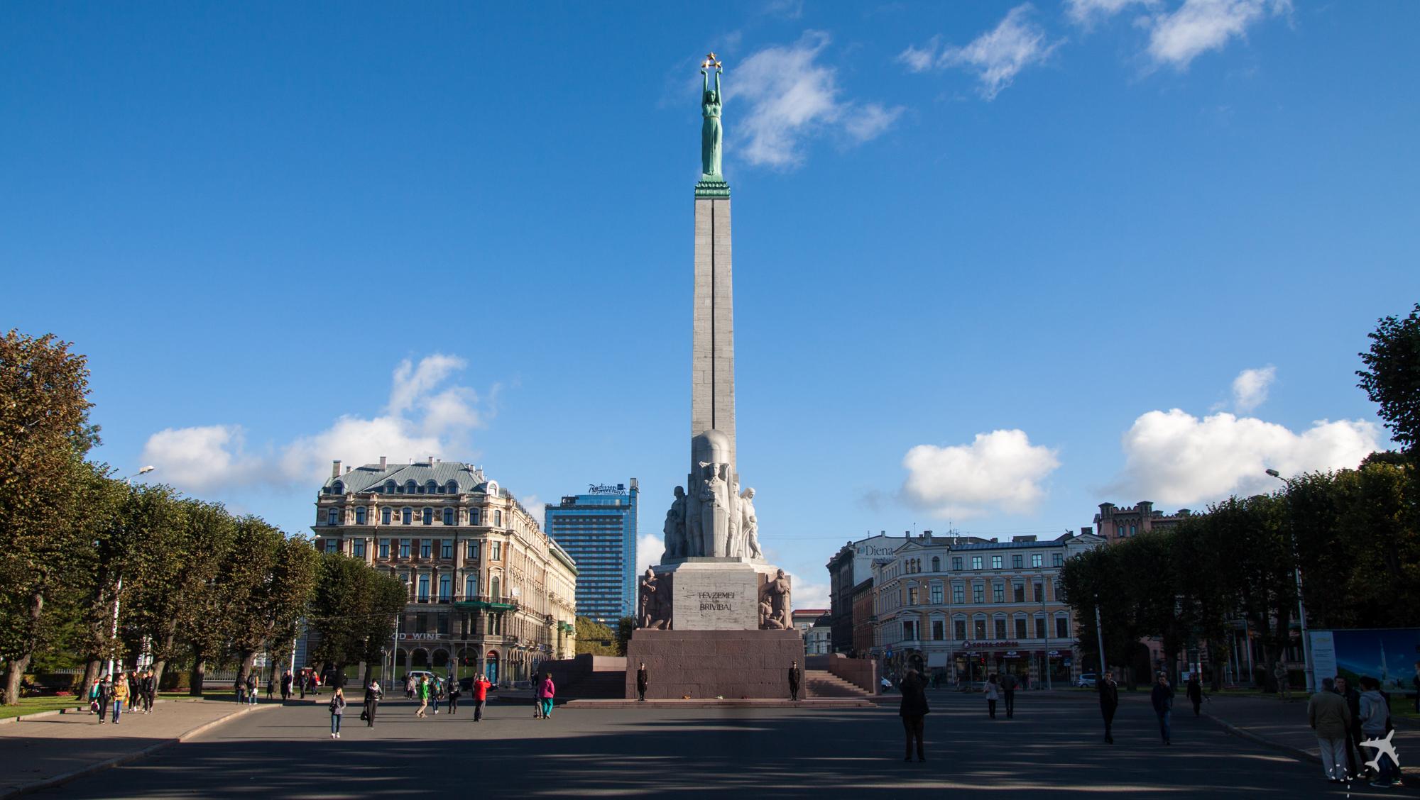 Freiheitsdenkmal, Riga, Lettland